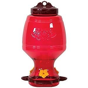 Homestead 32 oz Plastic Top-Fill Hummingbird Feeder - 4265
