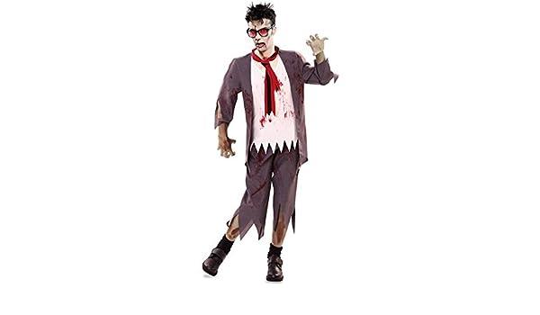 Disfraz de Colegial Zombie para hombre: Amazon.es: Juguetes y juegos