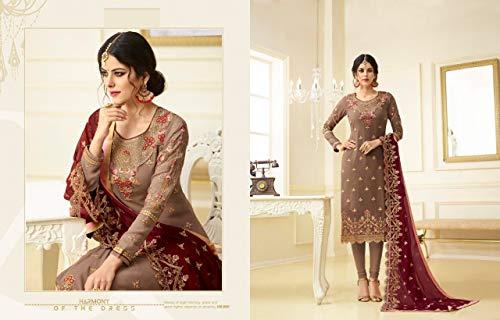 Emporium Kamiz Abito Signore Dress Bollywood Pakistano Ethnic 745 Dritto Pantaloni Hochzet Mens Indiano Donna Kameez Georgette Salwar Pizzo Terzo Ragazze Da Sposa dqxZFw