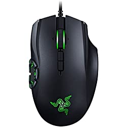 Razer Naga Hex V2 - Ergonomic MMO Gaming Mouse with 7 Programmable Thumb Buttons - 16,000 Adjustible DPI
