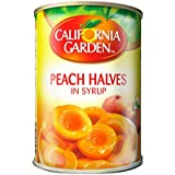 California Garden Peach Halves Choice In Syrup 420G (Pack Of 1)