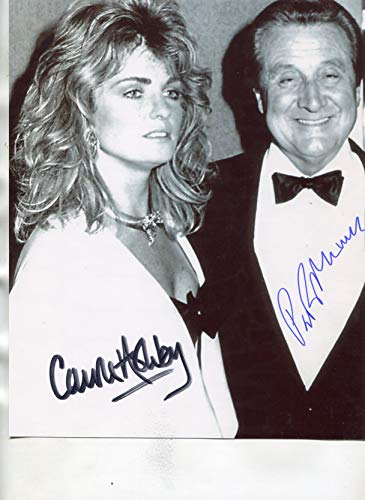 CAROLE ASHBY/PATRICK MACNEE (D-2015) signed 8X10 James Bond 007 photo from