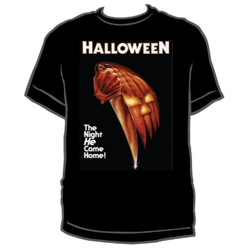 Halloween - Mens Night He Came Home T-shirt Large Black -