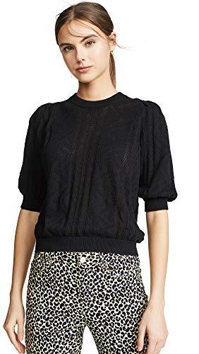 Joie Women's Chamora Sweater, Caviar, Black, Medium