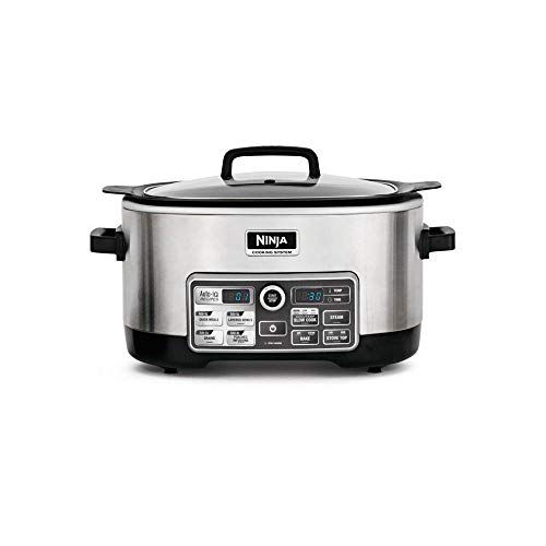 Grab Auto System - Ninja Multifunctional 6 Quart Pre Programmed Slow Cooker (Certified Refurbished)