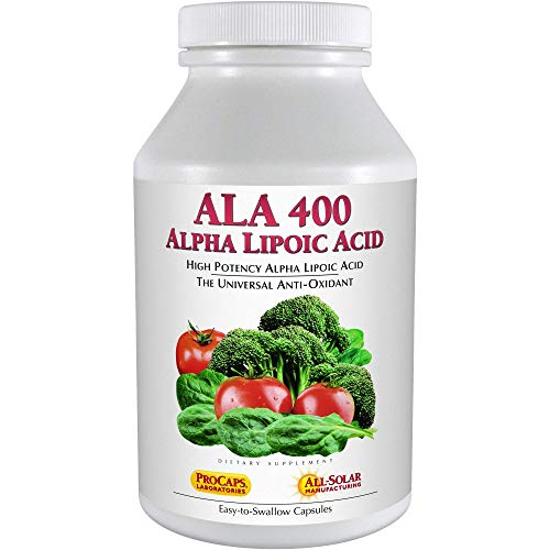 Andrew Lessman Alpha Lipoic Acid ALA 400 – 60 Capsules – The Universal Anti-Oxidant, Ultra-High Potency Support for…