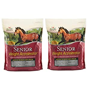 Manna Pro Senior Weight Accelerator for Horses, 8 lb 2
