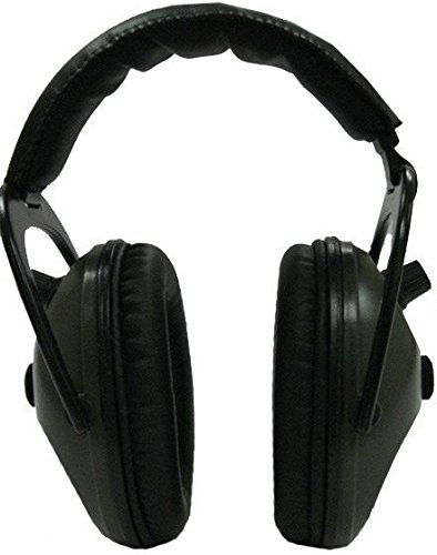 Pro Ears - Pro Tac 300 - Military Grade Electronic Hearing Protection and Amplification - NRR 26 - PT300G - Shooting Amplification & Protection - Ear Muffs - Green by Pro Ears