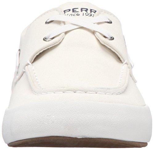 Sperry Top-sider Mens Wahoo Sneaker 2-eye Fashion Bianca