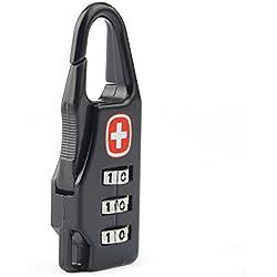 1Pcs Swiss Cross Symbol Combination Safe Code Number Lock Padlock for Suitcase Drawer Cabinet Luggage Zipper Bag Backpack Bag