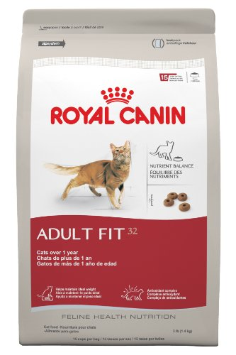 Royal Canin Feline Adult Fit 32 Health Nutrition for Pets, 3-Pound, My Pet Supplies
