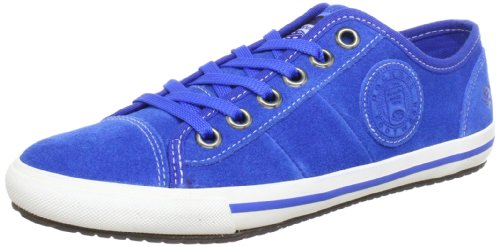 cordones cuero Zapatos de 326170 001543 Blau Blau mujer Dockers con 543 Azul IZBR7w