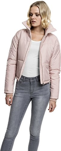 Jacket Classics High Neck Chaqueta 1075 Rot Para Ladies Urban Mujer rose Oversized XqxddR