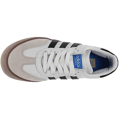 Adidas Busenitz Vulc Samba Edition Bianco / Core Nero / Bluebird Scarpe Da Skate Bianco / Core Nero / Bluebird