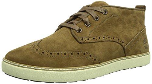 Timberland EK Hudston FTM, Sneaker alta, modello Brogue Uomo Marrone (Braun (Brown))