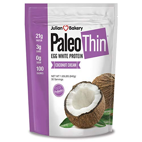 Paleo Protein Powder Coconut Cream (30 Servings Total) (Keto/Low Carb) (Soy/GMO/Gluten Free), 1.85 Pound (Pack of 1)