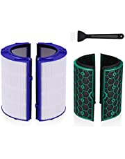 Housmile Compatible Dyson Air Filter Replacement & Dyson Fan Filter for Dyson TP04 HP04 DP04 Sealed Two Stage 360° Filter System Pilteure Cool Filter True HEPA Filter Activated Carbon Filter