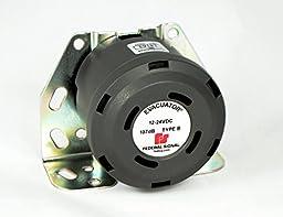 Federal Signal 210341SSG Evacuator Back-Up Alarm, Universal Mounting Bracket, 107 dB(A)