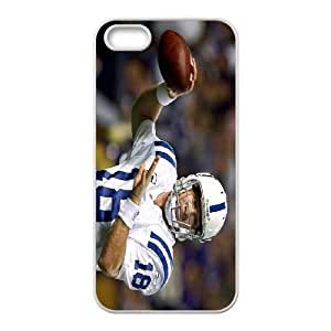 Generic Cell Phone Cases For Apple iphone 5c Cell Phone Design With 2015 NFL #18 Peyton Manning Denver Broncos NFL niy-hc8iphone 5ciphone 5c388