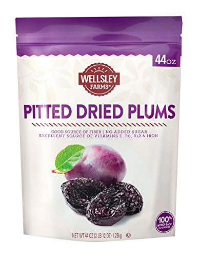 Product of Wellsley Farms Gourmet Dried California Plums, 44 oz. [Biz Discount]