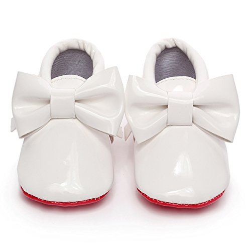 Leather Bottom Shoes For Infants