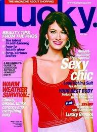 Durham Magazine - Lucky Magazine May 2003 - Rhea Durham Cover