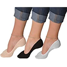 Juccini Women No Show Liner Ultra Low Cut Boat Line Invisible Athletic Casual Anti Slip Socks With Gel Grip