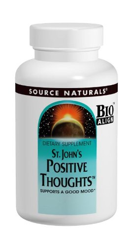 Source Naturals St. John's Positive Thoughts Herbal Supplement – 90 Tablets (Pack of 2)