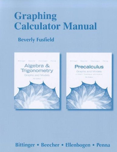Shipping Time Calculator (Graphing Calculator Manual for Algebra and Trigonometry: Graphs and Models and Precalculus: Graphs and)