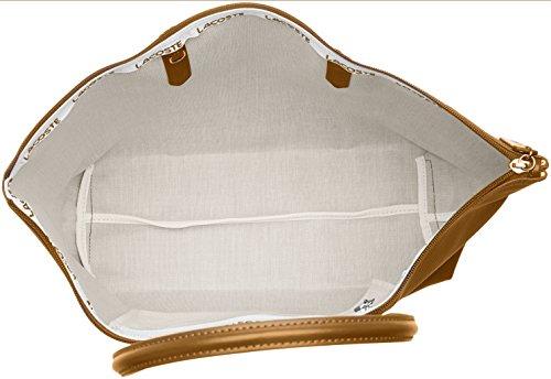 Bolso Golden L1212 Brown Concept Marron Mujer bandolera Lacoste TxnOpCqwv