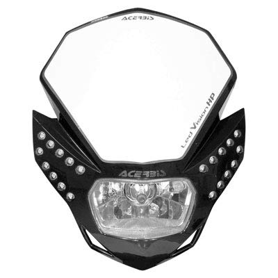 Acerbis Atv - Acerbis 2144210001 LED Vision HP Black Headlight