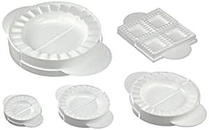 Wenko 2992010500 Dough and Ravioli Moulds Pack of 5