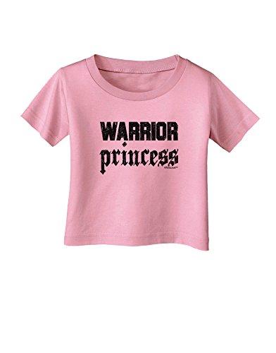 TooLoud Warrior Princess Script Infant T-Shirt - Candy Pink - 12Months -