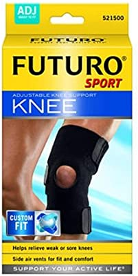 b8c6c4b4f3 Amazon.com: Futuro Sport Adjustable Knee Support: Health & Personal Care