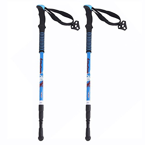 KingCapmp Ultralight Carvon Fiber Hiking poles