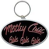 Motley Crue Girls, Girls, Girls Metal Key Chain