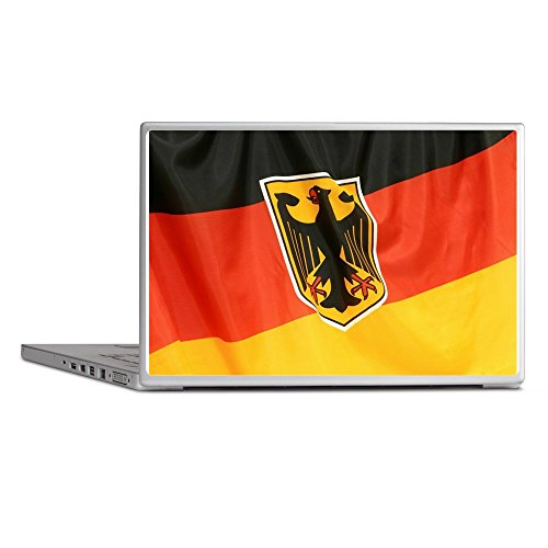 Laptop Notebook 11-12 Inch Skin Cover German Flag Waving ()
