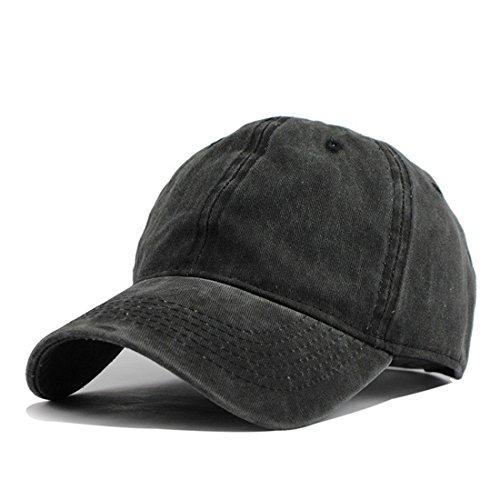 HH HOFNEN Unisex Twill Cotton Baseball Cap Vintage Adjustable Dad Hat (Army  Green) f5ccb7694edf