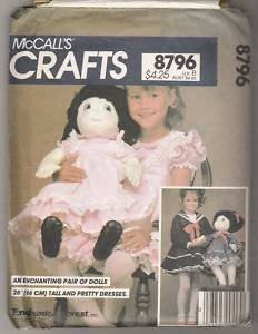 McCall's 8796 Sewing Pattern Makes 26