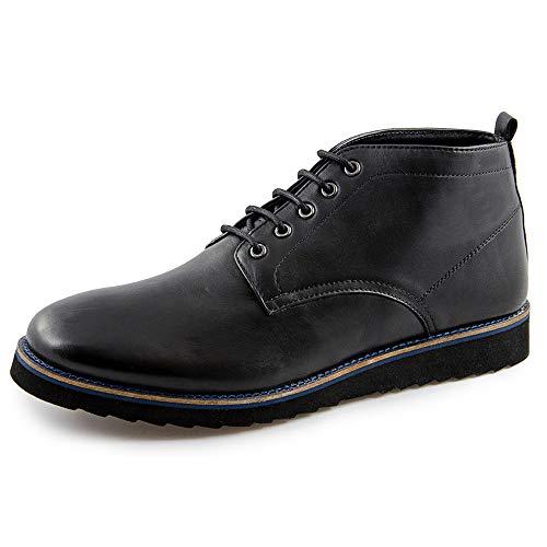 Milled Soft Ox 00595 Uomo Nero Black e Stivali Mara Shoes stivaletti London classici Marc gzUPf