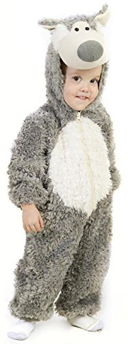 Princess Paradise Baby Boys' Big Bad Wolf Deluxe Costume, As Shown, 18M/2T (Little Wolf Costume)