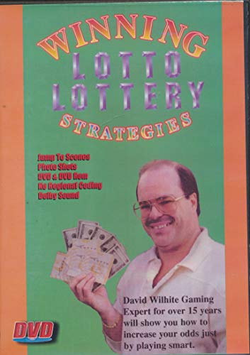 Winning Lotto Lottery Strategies David Wilhite Will Show You How to Increase Your Odds Just By Playing Smart (2000 DVD)