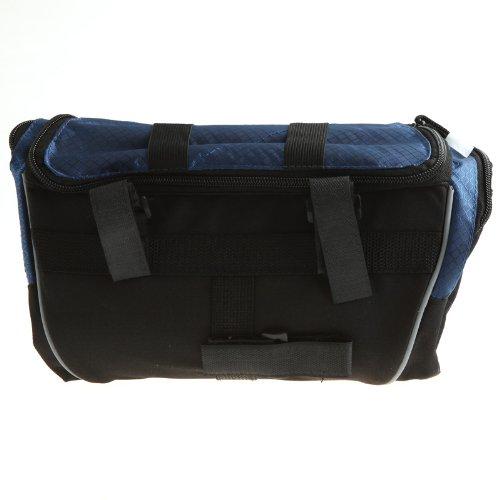 Roswheel Cycling Bike Bicycle Handlebar Front Bar Bag Basket Velcro (Blue)