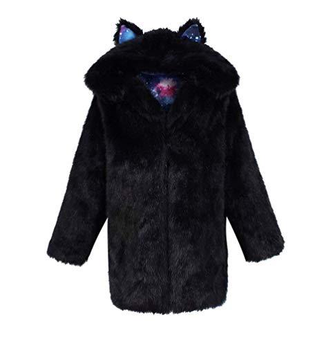 Cappotto Di Pelliccia Donna Elegante Moda Invernali Parka Manica Lunga Lanoso Pelliccia Sintetica Caldo Giacca Di Pelliccia Di Alta Qualit