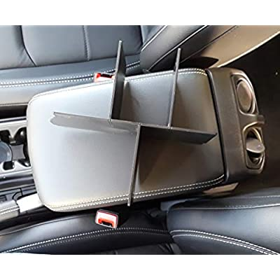 Vehicle OCD Center Console Organizer for Jeep Wrangler JL/JLU (2020-20) Jeep Gladiator JT Truck (2020) - Made in USA: Automotive