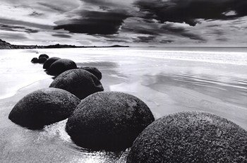 Boulders On the Beach - Poster