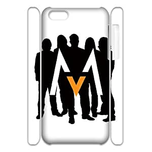 D-PAFD Diy 3D Case Maroon 5 for iPhone 5C