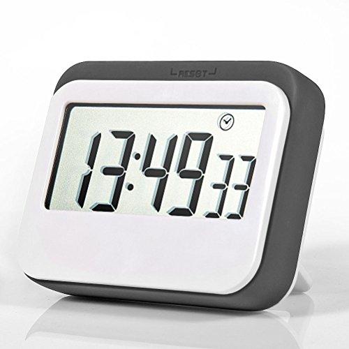 Jamal Digital Timer Time Timer For Kids Kitchen Timer Electric Timer Visual Timer Countdown Timer Shower Timer Multifunction Large LCD Display, Big Digits, Loud Alarm, Magnetic Backing, Stand (Big Timer)