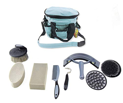 Southwestern Equine Deluxe Grooming Kit (Turquoise)