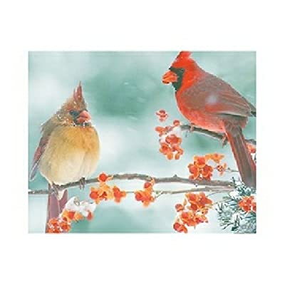 Springbok Cardinal Couple 1000 Piece Jigsaw Puzzle By Springbok